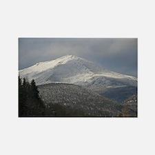 Adirondack Mountain Winter Rectangle Magnet (10 pa