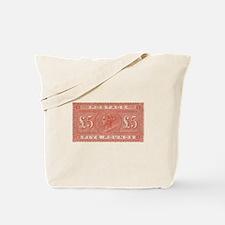 QV Five Pounds Orange Tote Bag