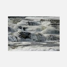 Icy Winter River Rectangle Magnet (10 pack)