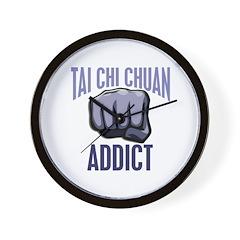 Tai Chi Chuan Addict Wall Clock