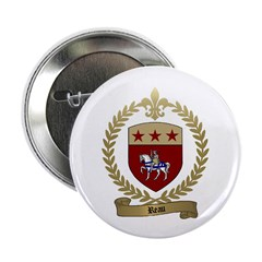 REAU Family Crest Button