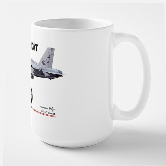 Tomcat! F-14 Large Mug