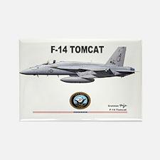 Tomcat! F-14 Rectangle Magnet