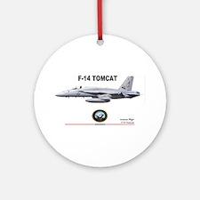 Tomcat! F-14 Ornament (Round)