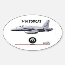 Tomcat! F-14 Oval Decal