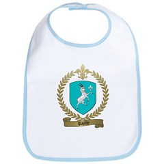 RAZILLY Family Crest Bib