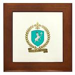 RAZILLY Family Crest Framed Tile
