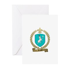 RAZILLY Family Crest Greeting Cards (Pk of 10)