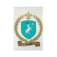 RAZILLY Family Crest Rectangle Magnet