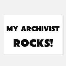 MY Archivist ROCKS! Postcards (Package of 8)