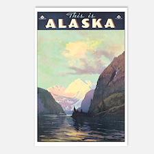 Alaska US Postcards (Package of 8)