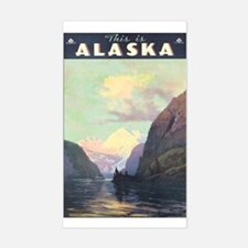 Alaska US Rectangle Decal