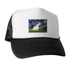Starry Night/Sealyham L1 Trucker Hat