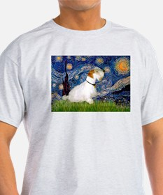 Starry Night/Sealyham L1 T-Shirt