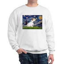 Starry Night/Sealyham L1 Sweatshirt