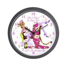 Katty Diva Bubbly Wall Clock