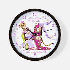 Katty Diva Bubbly Wall Clock