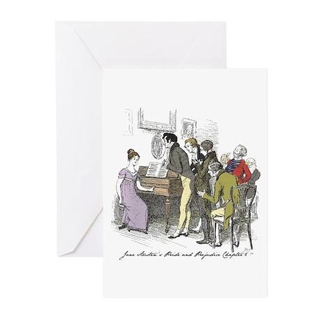Pride & Prejudice Ch 6, Hugh Greeting Cards (p