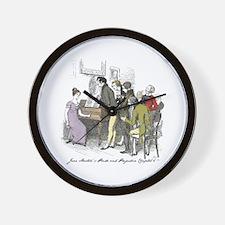 Pride & Prejudice Ch 6, Hugh Wall Clock