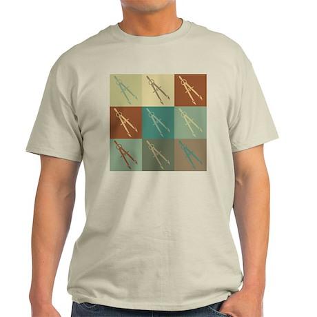 Mechanical Engineering Pop Art Light T-Shirt