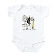 Pride & Prejudice Ch 7a Infant Bodysuit
