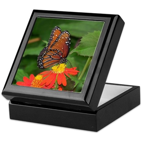 Queen Butterfly Keepsake Box