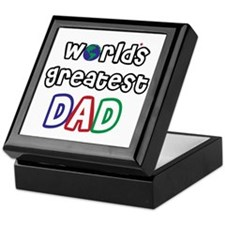 World's Greatest Dad! Keepsake Box
