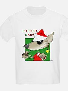 Ho Ho Ho Baby / Wolf T-Shirt