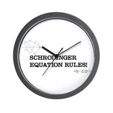 Schrodinger Equation Rules! Wall Clock
