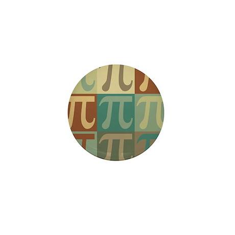 Math Pop Art Mini Button