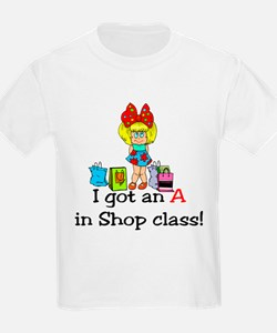 A in shop class T-Shirt