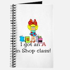A in shop class Journal