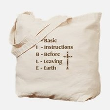 Bible B-I-B-L-E Tote Bag