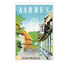 Aarhus Danmark Postcards (Package of 8)
