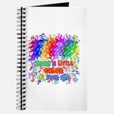 Splash Color in Your Life Journal