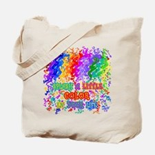 Splash Color in Your Life Tote