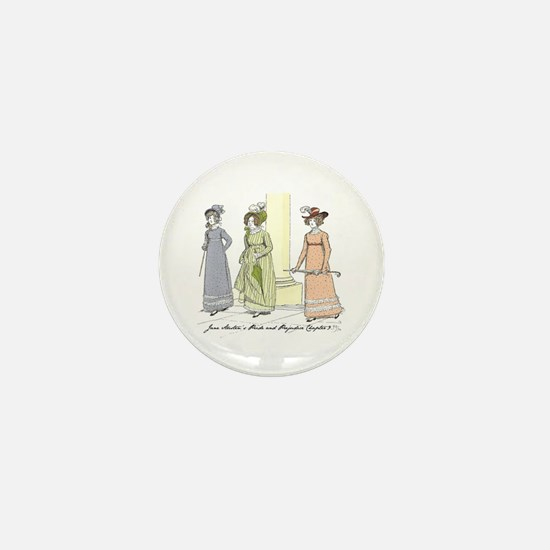 Pride & Prejudice Ch 9 Mini Button