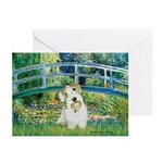 Bridge/Sealyham L2 Greeting Cards (Pk of 10)