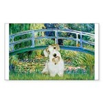 Bridge/Sealyham L2 Sticker (Rectangle 50 pk)