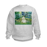 Bridge/Sealyham L2 Kids Sweatshirt