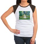 Bridge/Sealyham L2 Women's Cap Sleeve T-Shirt