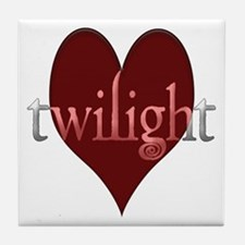 Twilight in Your Heart Tile Coaster