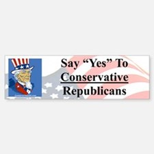 """""""Say """"Yes"""" to Conservative Re Stick"""