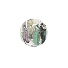 Pride & Prejudice Ch 10 Mini Button