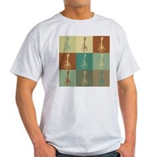 Mandolin Pop Art T-Shirt