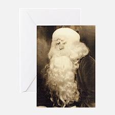 Scary Santa Greeting Card