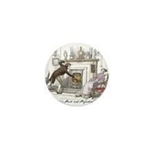 Pride & Prejudice Ch 11 Mini Button