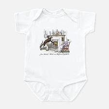 Pride & Prejudice Ch 11 Infant Bodysuit