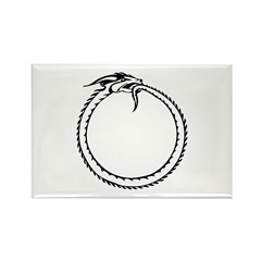 Ouroboros Symbol Rectangle Magnet (10 pack)