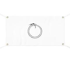 Ouroboros Symbol Banner
